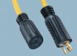北美UL自锁电源线插头 XL515R-A