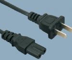 国标CCC电源线 PBB-6配 ST2八字尾C7
