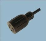 美国UL自锁电源线插头 XL1420R-A