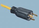 美国UL自锁电源线插头 XL515P-A