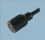 美式UL自锁电源线插头 XL1430R-A