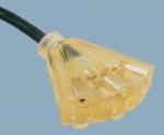美标3位插座电源线 XH515B