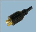 美标UL自锁电源线插头 XL1430P-A