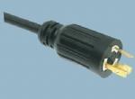 美标UL自锁电源线插头 XL520P-A