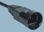 IEC 60320品字尾电源线 C14 XH007B