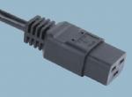 IEC 60320品字尾电源线 C19 XH008A