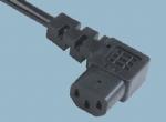 IEC 60320弯头品字尾 C13 ST3W